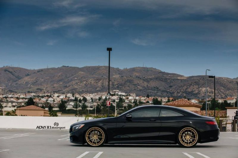 Mercedes S Coupe 22 Zoll ADV.1 Wheels r1 motorsport W222 8 Schick & dezent   Mercedes S Coupe auf 22 Zoll ADV.1 Wheels