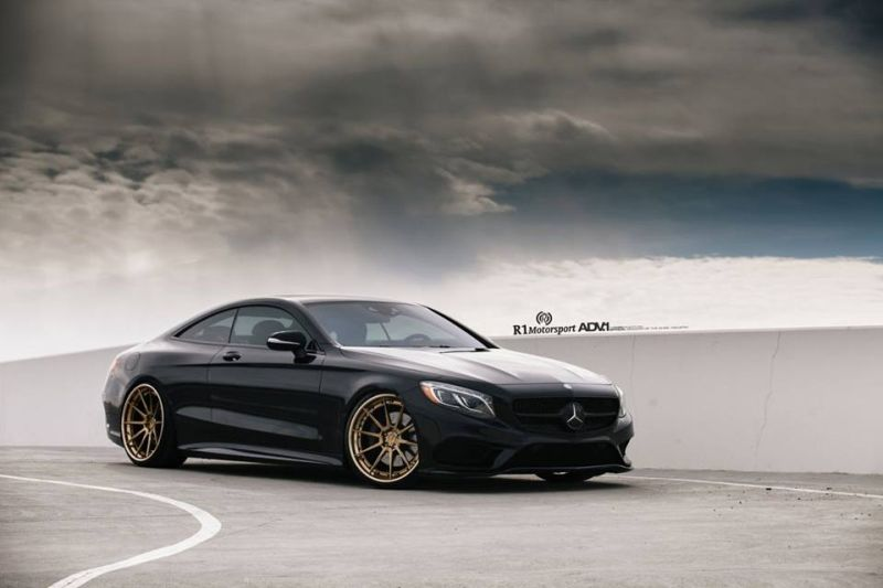 Mercedes S Coupe 22 Zoll ADV.1 Wheels r1 motorsport W222 9 Schick & dezent   Mercedes S Coupe auf 22 Zoll ADV.1 Wheels