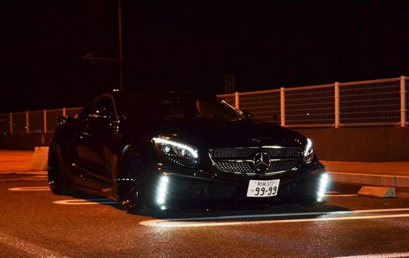 Mercedes S550 Coupe C217 Tuning by VITT Squalo 1 Mercedes S550 Coupe C217 vom Tuner VITT Squalo