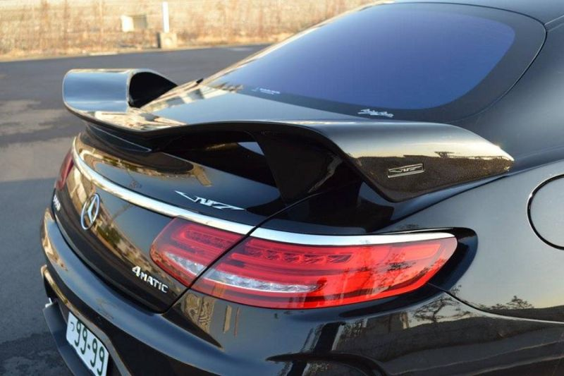 Mercedes S550 Coupe C217 Tuning by VITT Squalo 12 Mercedes S550 Coupe C217 vom Tuner VITT Squalo