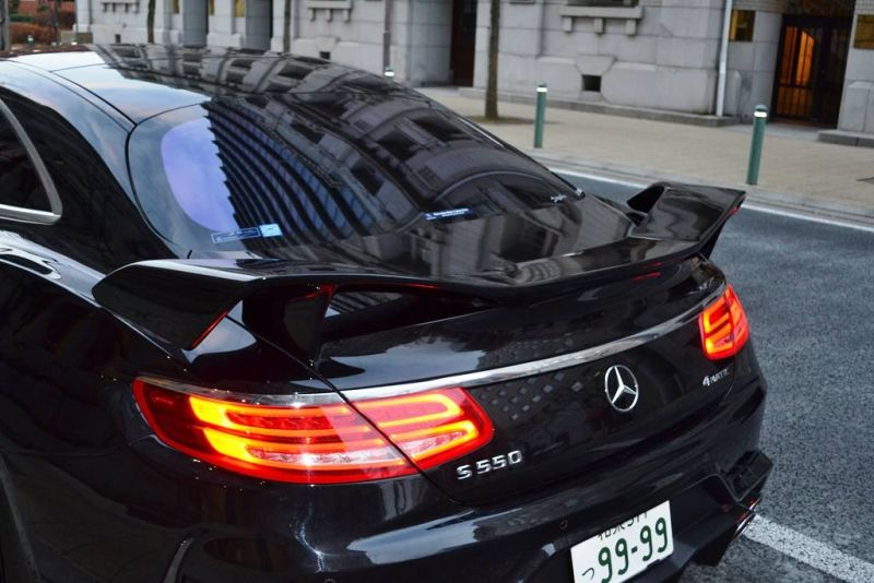 Mercedes S550 Coupe C217 Tuning by VITT Squalo 3 Mercedes S550 Coupe C217 vom Tuner VITT Squalo