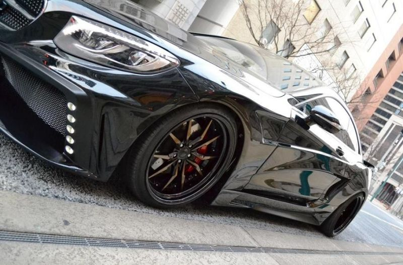 Mercedes S550 Coupe C217 Tuning by VITT Squalo 4 Mercedes S550 Coupe C217 vom Tuner VITT Squalo