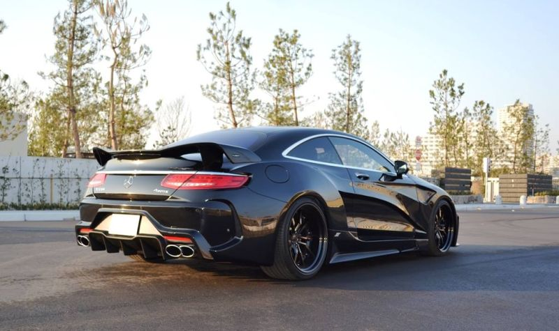 Mercedes S550 Coupe C217 Tuning by VITT Squalo 5 Mercedes S550 Coupe C217 vom Tuner VITT Squalo