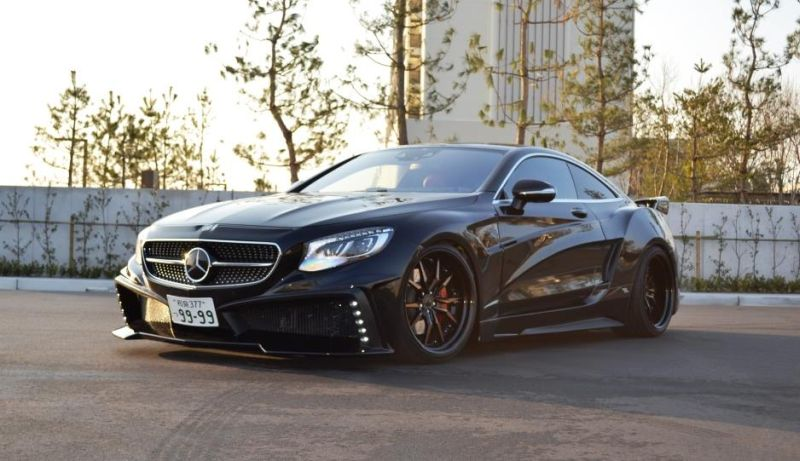 Mercedes S550 Coupe C217 Tuning by VITT Squalo 6 Mercedes S550 Coupe C217 vom Tuner VITT Squalo
