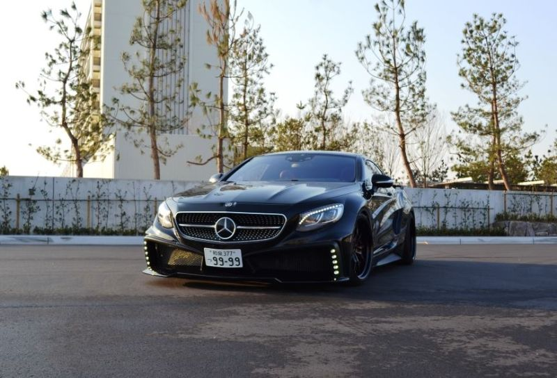 Mercedes S550 Coupe C217 Tuning by VITT Squalo 7 Mercedes S550 Coupe C217 vom Tuner VITT Squalo