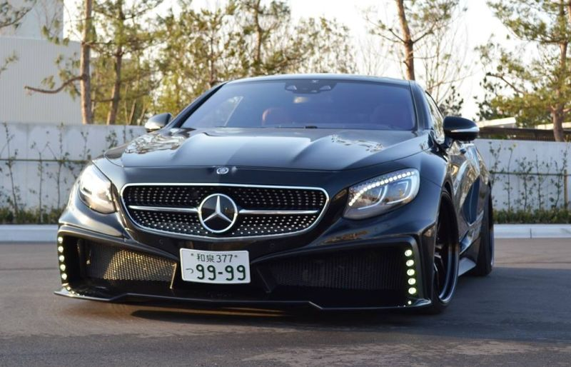 Mercedes S550 Coupe C217 Tuning by VITT Squalo 8 Mercedes S550 Coupe C217 vom Tuner VITT Squalo