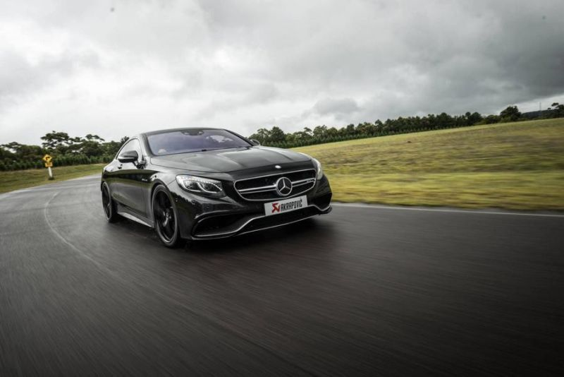 Mercedes S63 AMG Coupe Akrapovice HRE P107 Tuning 1