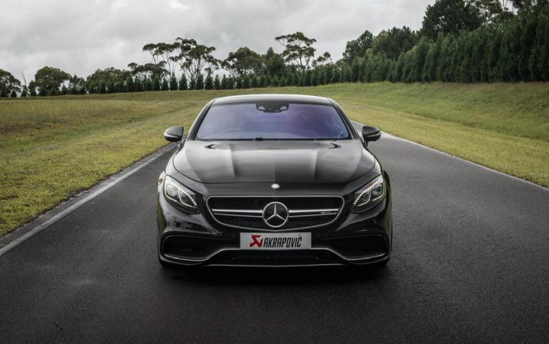 Mercedes S63 AMG Coupe Akrapovice HRE P107 Tuning 3