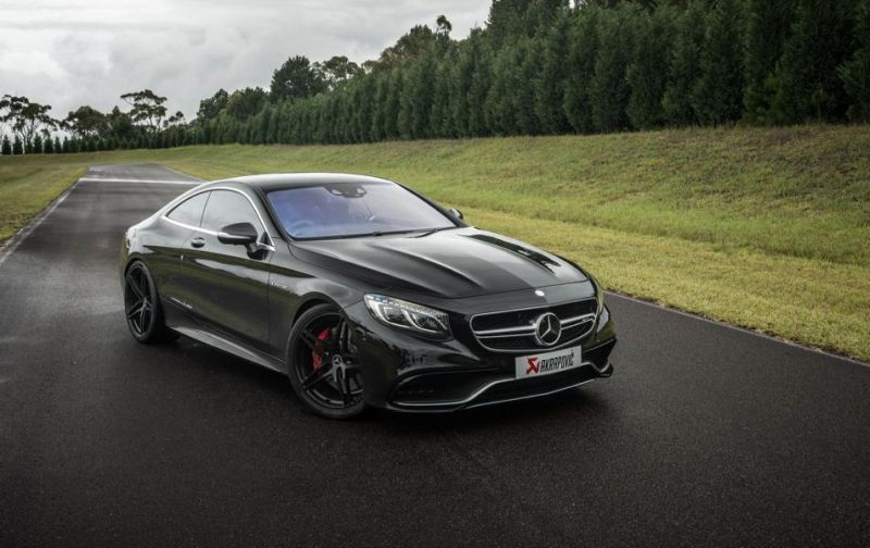 Mercedes S63 AMG Coupe Akrapovice HRE P107 Tuning 4