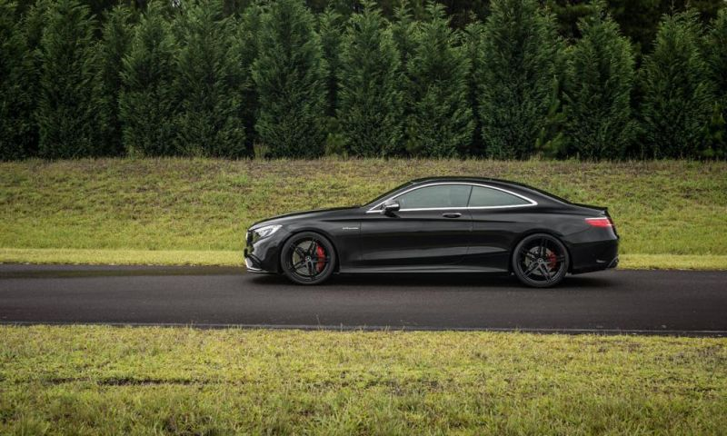 Mercedes S63 AMG Coupe Akrapovice HRE P107 Tuning 5
