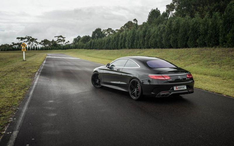 Mercedes S63 AMG Coupe Akrapovice HRE P107 Tuning 6