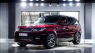 Montalcion Red Range Rover Sport 3.0 SDV6 HSE Tuning Kahn Design 190x106 Range Rover Sport 3.0 SDV6 HSE in Estoril Blau by Kahn Design