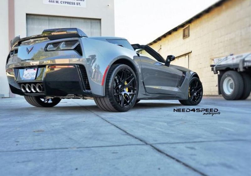 Need4Speed MS Chevrolet Corvette C7 Z06 MRR FS01 Alufelgen 4 Need4Speed MS   Corvette Z06 auf 20 Zoll MRR Felgen