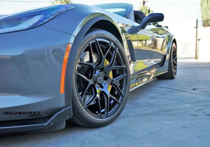 Need4Speed MS Chevrolet Corvette C7 Z06 MRR FS01 Alufelgen 6 Need4Speed MS   Corvette Z06 auf 20 Zoll MRR Felgen