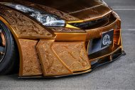 Nissan GT R Kuhl Racing Widebody Gold 14 190x127 IZ Metal & Candy Painting: das Autos als fahrendes Kunstwerk
