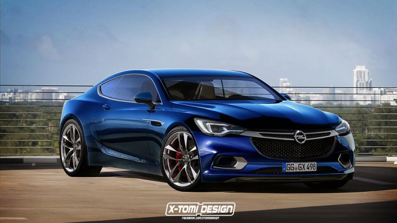 Opel Calibra2 Rendering: 2016er Opel Calibra by X Tomi Design