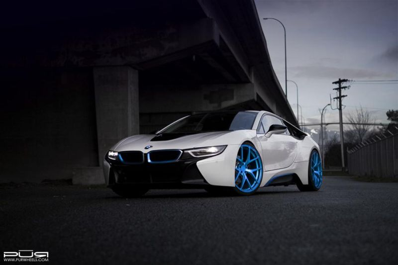 PUR Wheels BMW i8 PUR 4OUR 1 1024x682 BMW i8 auf 22 Zoll PUR Wheels Alu's Typ 4OUR