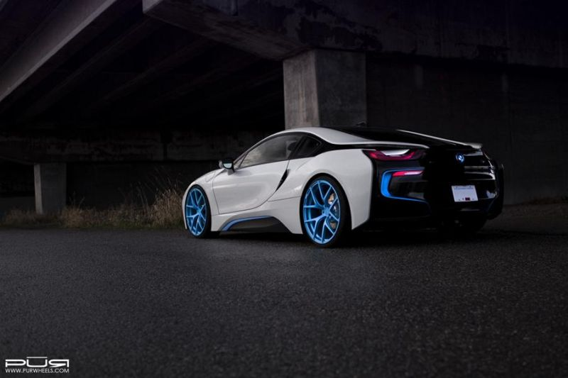 PUR Wheels BMW i8 PUR 4OUR 2 1024x682 BMW i8 auf 22 Zoll PUR Wheels Alu's Typ 4OUR