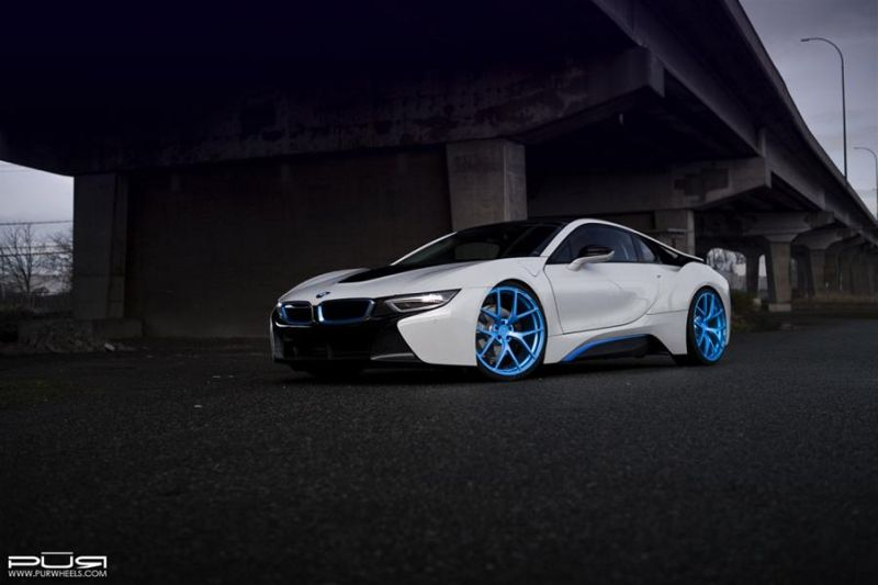 PUR Wheels BMW i8 PUR 4OUR 4 1024x682 BMW i8 auf 22 Zoll PUR Wheels Alu's Typ 4OUR
