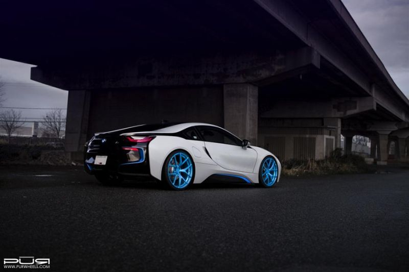 PUR Wheels BMW i8 PUR 4OUR 5 1024x682 BMW i8 auf 22 Zoll PUR Wheels Alu's Typ 4OUR