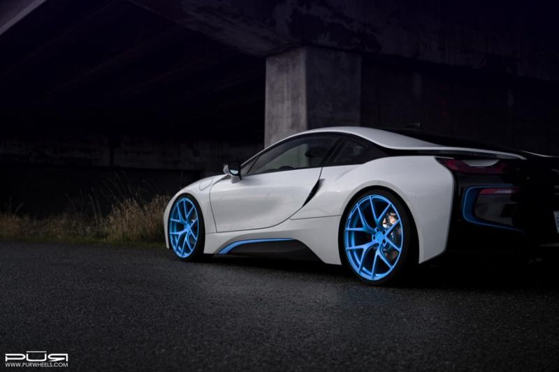 PUR Wheels BMW i8 PUR 4OUR 6 1024x682 BMW i8 auf 22 Zoll PUR Wheels Alu's Typ 4OUR