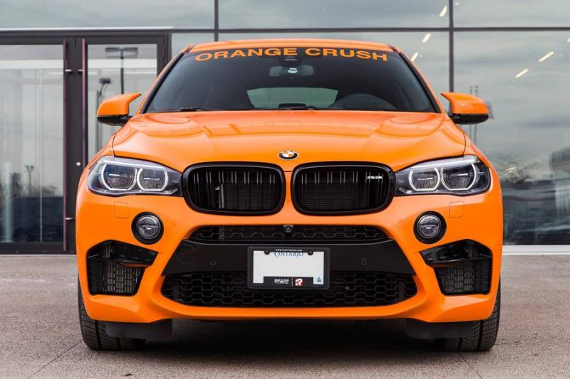 Pfaff Tuning BMW X6M F86 Orange 3 Den sieht man   Pfaff Tuning BMW X6M F86 in Orange