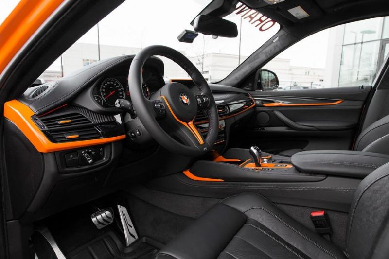 Pfaff Tuning BMW X6M F86 Orange 4 Den sieht man   Pfaff Tuning BMW X6M F86 in Orange