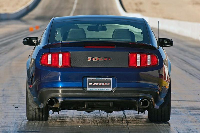 Shelby Ford Mustang Shelby 1000 2012 Tuning 2