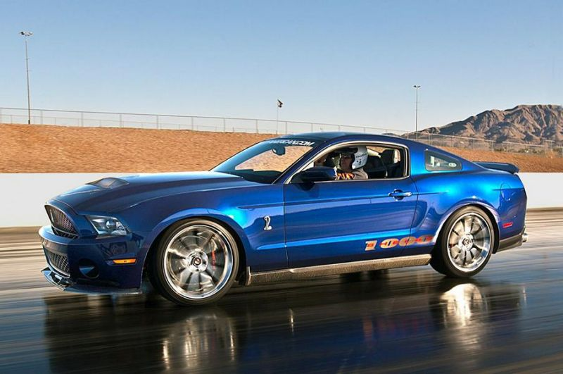 Shelby Ford Mustang Shelby 1000 2012 Tuning 4