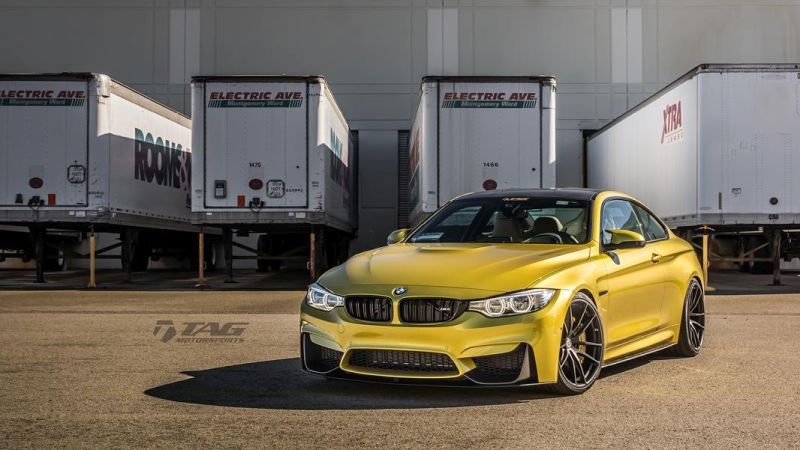 TAG Motorsports BMW M4 F82 Coupe HRE P104 1
