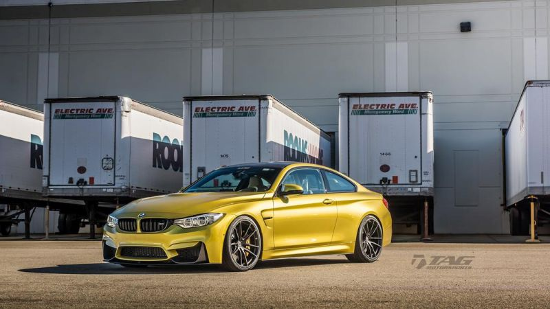 TAG Motorsports BMW M4 F82 Coupe HRE P104 2