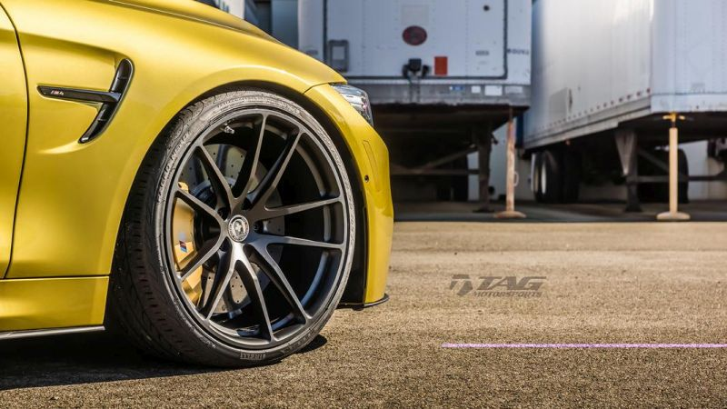 TAG Motorsports BMW M4 F82 Coupe HRE P104 3
