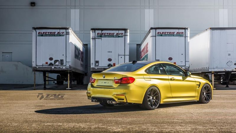 TAG Motorsports BMW M4 F82 Coupe HRE P104 4