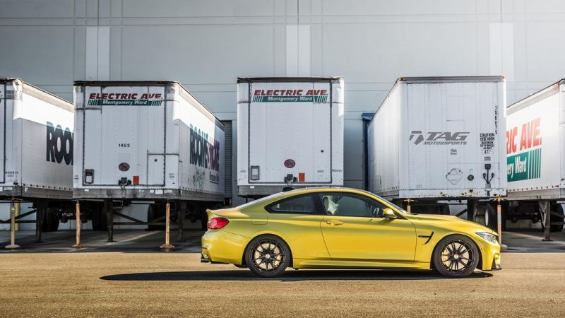 TAG Motorsports BMW M4 F82 Coupe HRE P104 5