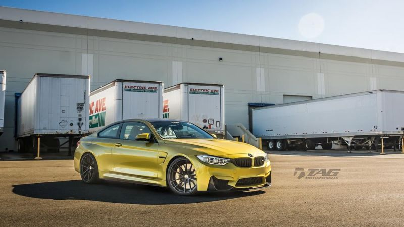 TAG Motorsports BMW M4 F82 Coupe HRE P104 6