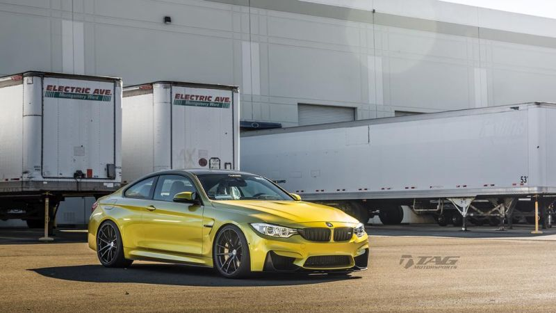 TAG Motorsports BMW M4 F82 Coupe HRE P104 7