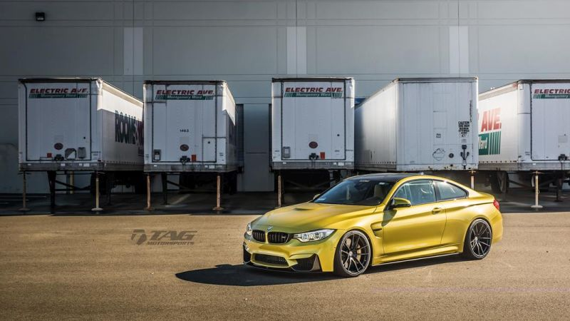 TAG Motorsports BMW M4 F82 Coupe HRE P104 8