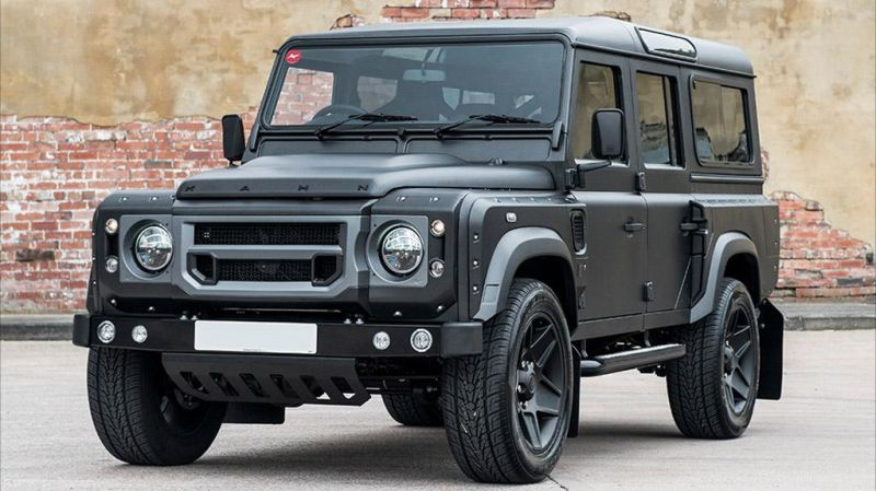 The End Edition Kahn Design%E2%80%99s Land Rover Defender Tuning 2 The End Edition   Kahn Design's letzter Defender ist der beste!
