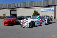 Turner Motorsport BMW M6 GT3 aFe Power livery Folierung Tuning 3 190x127 Fotostory: Turner Motorsport BMW M6 GT3 F13 Coupe
