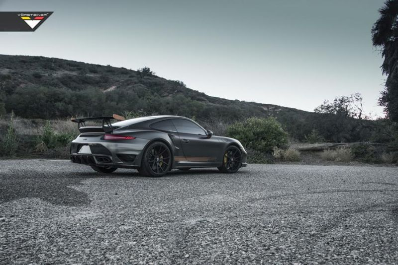 Vorsteiner V RT Porsche 991 Turbo tuning car 3 Vorsteiner V RT Edition   Porsche 991 Turbo S
