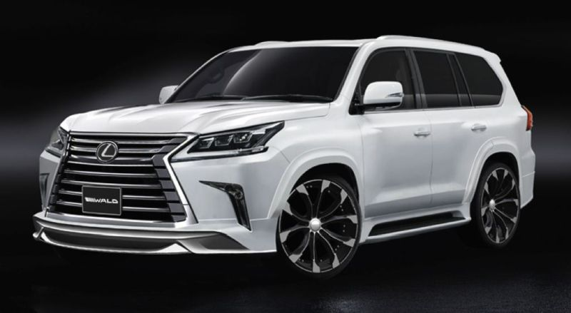 Wald Lexus LX Facelift 1 Vorschau: Wald Internationale Lexus LX Facelift