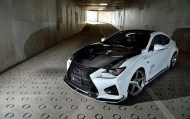 Widebody Kit Rowen International Lexus RC F 7 190x119 Widebody Kit von Rowen International am Lexus RC F