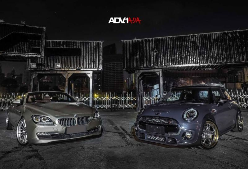adv1 wheels asia china mini cooper s 3 19 Zoll ADV05C Track Spec CS am Mini Cooper S