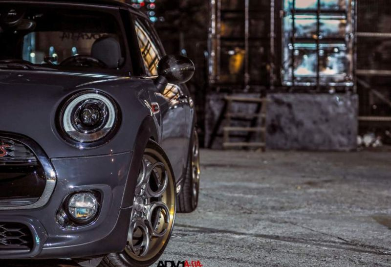 adv1 wheels asia china mini cooper s 5 19 Zoll ADV05C Track Spec CS am Mini Cooper S