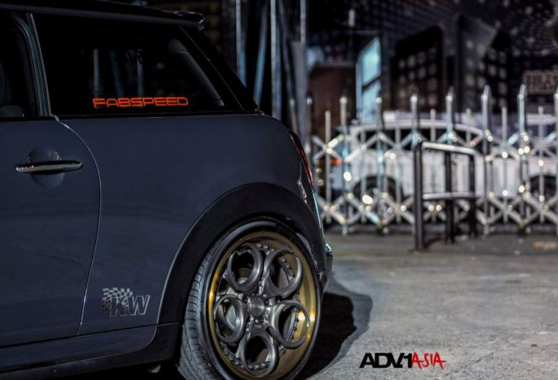 adv1 wheels asia china mini cooper s 6 19 Zoll ADV05C Track Spec CS am Mini Cooper S
