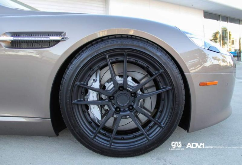 aston martin rapide lowered aftermarket modified la auto 1 Aston Martin Rapide auf 20 Zoll ADV5.2 MV2 CS Alu's