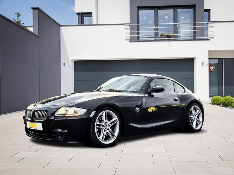 bmw z4 roadster coup mit st supensions fahrwerk. Black Bedroom Furniture Sets. Home Design Ideas