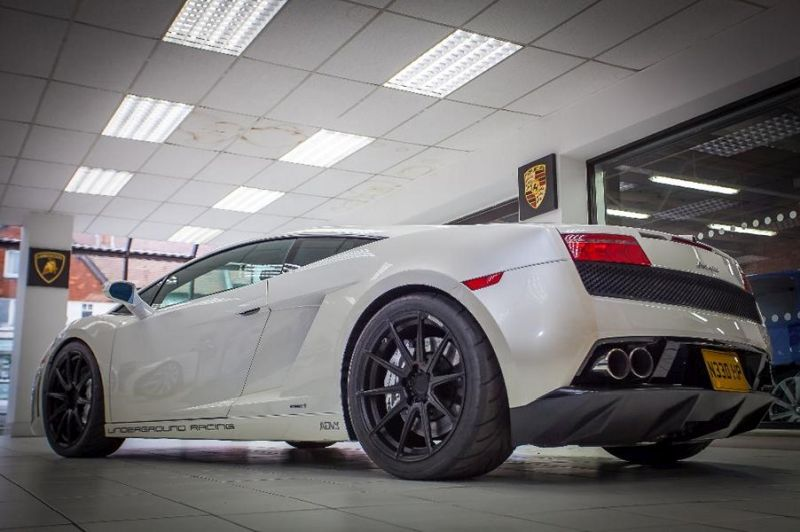 media tuning ur gallardo 5 2.200PS Lamborghini Gallardo von Underground Racing