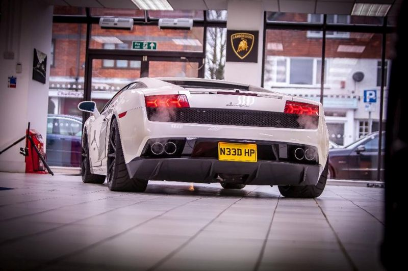 media tuning ur gallardo 8 2.200PS Lamborghini Gallardo von Underground Racing