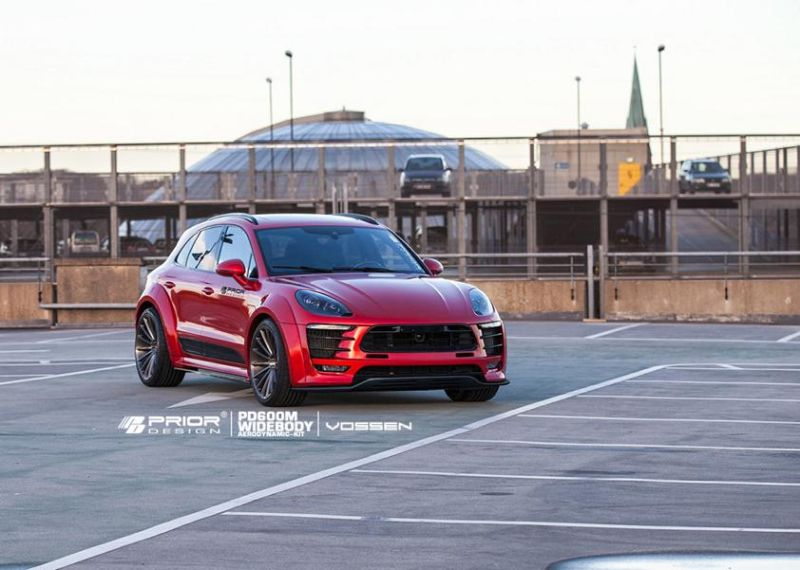 prior design PD600M widebody porsche macan tuning 6 Fett   Prior Design PD600M Widebody am Porsche Macan
